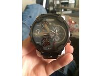 Men's diesel big daddy watch open to offers and swaps