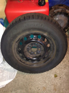 Winter Tires and Rims - 2013 Hyundai Tuscon or other 16 inch
