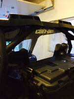 Canam Maverick Rear window