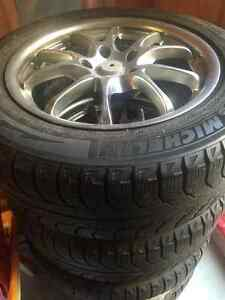 MICHELIN X-ICE winter tires on RIMS 235/55 R17