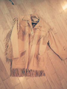 BEAUTIFUL DEERSKIN JACKET