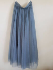 Bridesmaid Tulle Maxi Skirt (By Revelry)