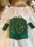 Dance Outfit - Sequence green
