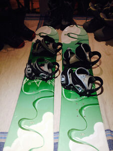 Kids Snowboard, boots and bindings