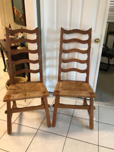 Vintage Chairs - Thickson & Rossland, Whitby
