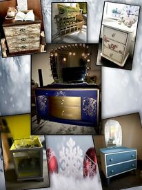 *** CHRISTMAS SALE!!! *** dressers, side tables, magazine rack, drinks cabinet