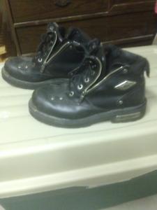 Harley Davidson Motorcycle Boots, 2 pairs