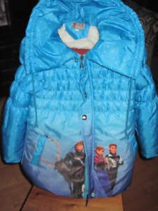 Manteau Reine des neiges-Kids Girl Frozen Elsa Anna jacket Gr6-8