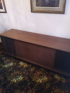 Antique Telefunken Home Stereo System