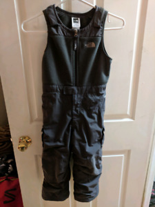 North Face snow pants size 4T