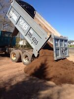 Quality screen topsoil - 16 yards- delivered -$245