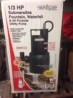 1/3 HP Submersible Utility Pump