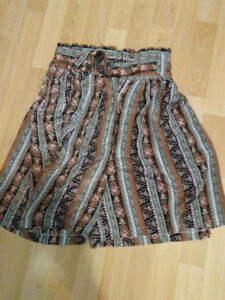 Women's Patterned Skirt from Japan