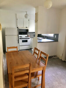 Furnished two bedroom is available for short term (April 1)
