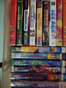Kids movies with VCR