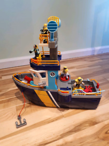 Large fisher price boat for sale