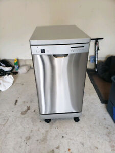 """18"""" stainless steel inside out portable dishwasher for sale"""
