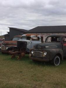 49/50 Merc/Ford Rat Rod Trucks