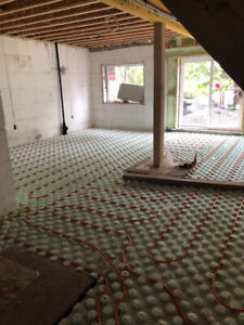 "Hydrofoam ""Pucks"" Insulation for Radiant In Floor Heat"