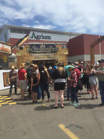 WE NEED STAFF -food truck business -featuring at PNE