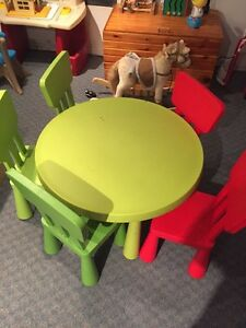 IKEA kids table and chairs  Peterborough Peterborough Area image 3