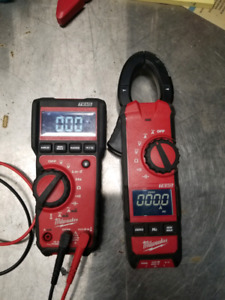 Milwaukee DMM and clamp meter