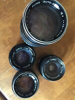 Olympus manual camera lenses