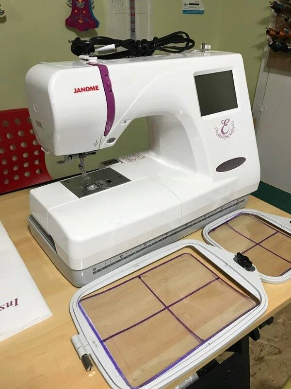 Janome Embroidery Machine New Price Hobbies Crafts