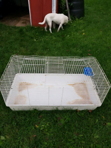 "Small animal cage approx 36"" long x18""wide"