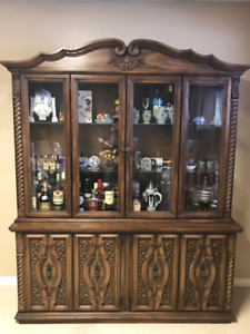 Solid Wood Cabinet For Sale!