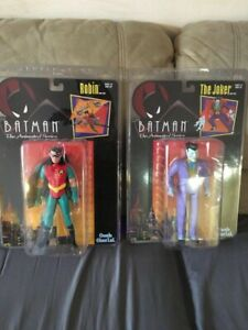 Batman the animated series Joker and Robin (huge)