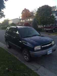 2001 Chevrolet Tracker SUV, Crossover AS IS