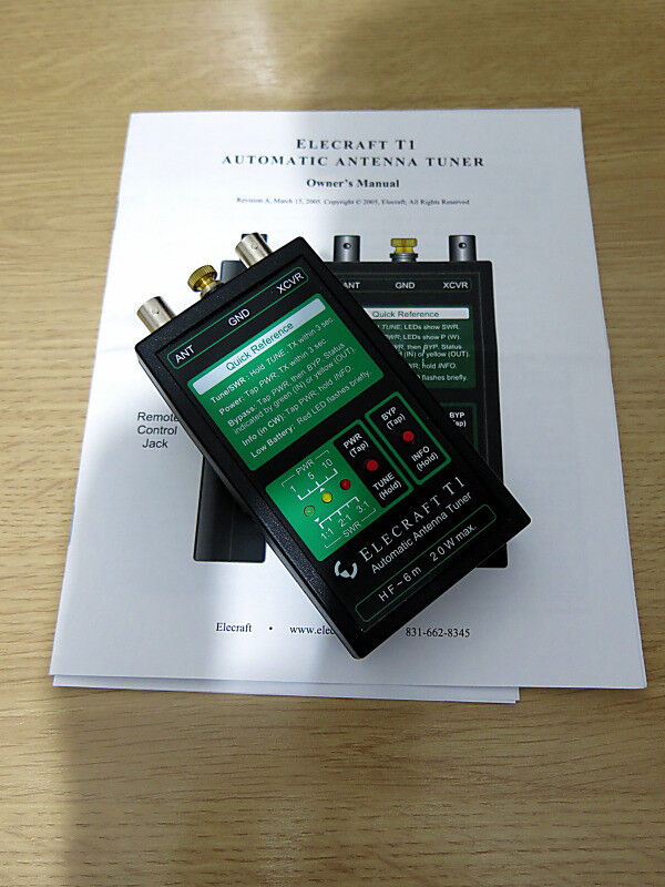Elecraft T1 Auto ATU Tuner for QRP Ham Radio | in Duns, Scottish Borders |  Gumtree