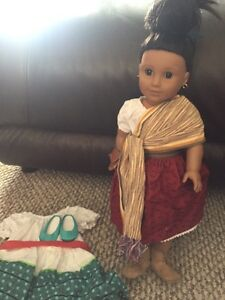 American girl doll Isabel girl of the year, like new