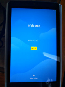 """Alcatel A30 8"""" LTE Tablet"""