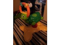 Vtech turtle bounce and play. Animal sounds play mat. Pull trolley