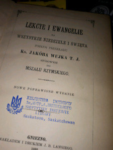 Lekcye I  Ewangelie