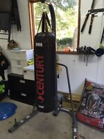Sac combat Punching bag et support