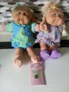 2 Full Size CPK Dolls  SOLD PPU