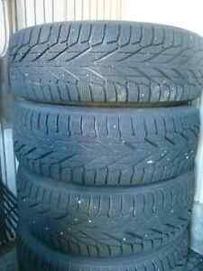 Four 245/65/17 Hakkapeliita (Nokian) R2 SUV Winter tires & rims Peterborough Peterborough Area image 5
