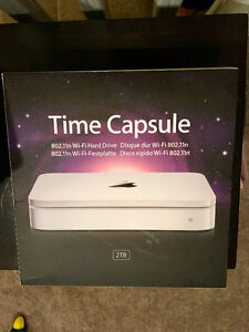 Apple Time Capsule 2 TB hardly used mostly in box Edmonton Edmonton Area image 2
