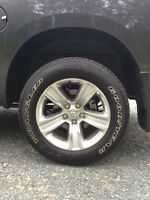 Dodge ram tires and rims LIKE NEW!