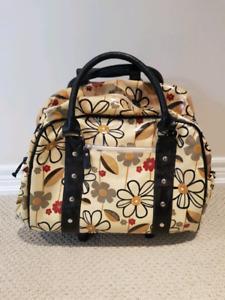 Wheeled travel/overnight bag