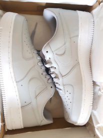 Size 8.5 Mens. Nike Air Force 1 LV8. Grey White. Brand New.