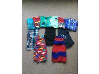 Boys summer holiday clothes bundle - age 9