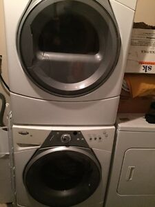 Whirlpool Duet Stacking Washer & Dryer $750 OBO  [must sell]