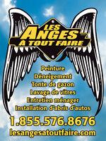 Taille de haies Tonte de gazon pelouse / Les Anges À Tout Faire Laval / North Shore Greater Montréal Preview