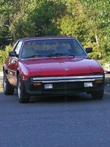 Fiat bertone x 1 /9 1981