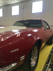 For Sale 1968 Camaro SS, 383 Stroker, PCharger