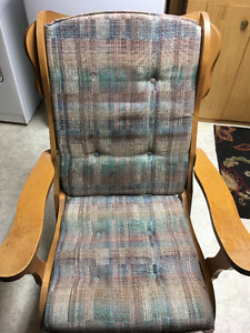 Glider rocking chair ready for a new home!